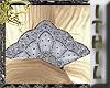 Art Nouveau Silver Fan