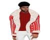 IB| Xmas  Fur Jacket Red