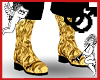 Gold Metalic Boots