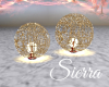 ;) Sparkly Balls Gold