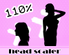 Ɇ Head Resizer 110%