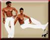 White Slim Dress Pants