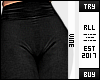 ♔ Black Leggings RLL