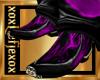 [L] Purple Cowboy boots