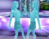 ani Gemini twins statue