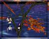 Autumn Climbing Tree