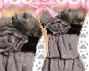 CW* Romantic grey dress