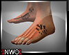 Feet. FUKK Tatto