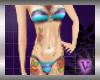 Bikini Blue/Purple Slim