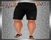 !b Kid-Men Shorts Blk V1