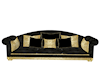 Black/Gold Couch