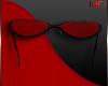 Love glasses Valentine