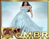 QMBR Velvet Blu Gown 97