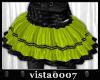 [V7] Green Tulle Skirt