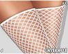 f. white fishnets RL