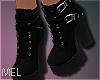 Mel*Black Ankle Boots
