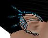 Dark Blue Gem Earpiece