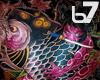 [b7] Koi Back Tattoo M