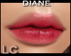 LC Diane Smudged Red