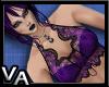 VA Purple Lace Top