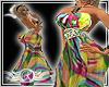 Colorful Dress XXXL
