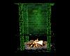 Green Dream Fireplace