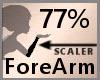 77% ForeArm Scaler F A