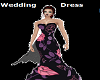 F/Black Wedding Dress