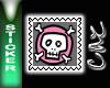 *CC* Pink Skull