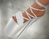 JS Silver Fur Shoes