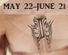 )Ѯ(Gemini Tattoo/M