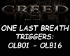 CREED- ONE LAST BREATH