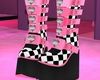 P! Chess Shoes - Pink