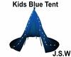 Kids Blue Tent