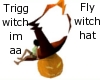 Flyin witchhat