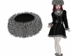 Greta Fur Hat Black