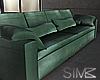 Modern Teal sofa