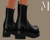 Black Chelsea Stompers