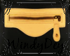 Yellow Black Clutch Bag