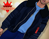 Blue Layerable Jacket