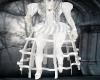 Steampunk White Wedding