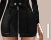 Black Mini Skirt | L