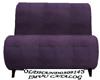 FCS Purple suede hed pet