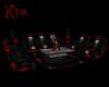 Red Pvc Lounge