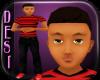 Jonathon TEEN Red Blk
