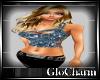 Glo* 1StrapSequinTop~Blu