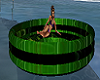 Green Pool Float