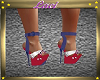 ~L~Red Wht Blu Shoes