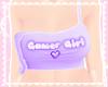 gamer girl tank! ♡