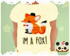 +Kids Im A Fox Shirt